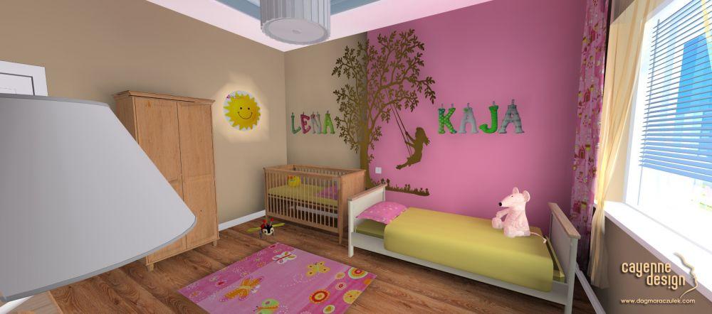 Mieszkanie dwupoziomowe - pokój dzieci