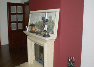 Salon - kominek portal