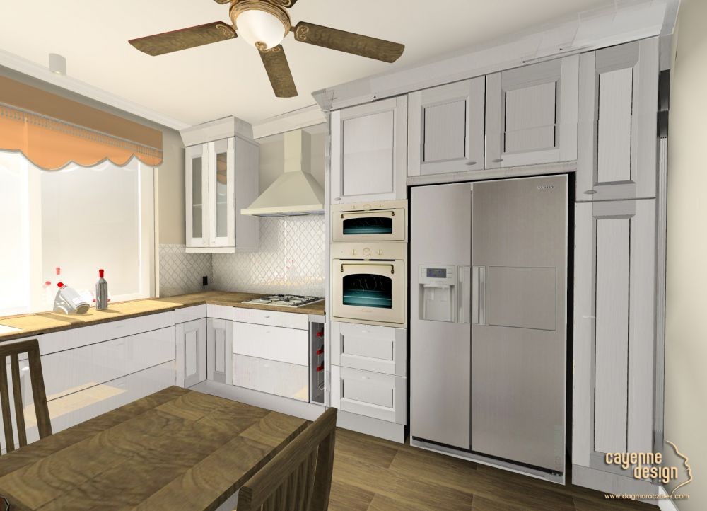 Mieszkanie dwupoziomowe - kuchnia