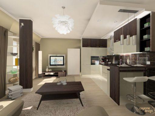 Milicz – małe mieszkanie na poddaszu