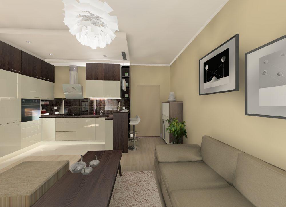 Milicz Małe Mieszkanie Na Poddaszu Projektowanie Aranżacje