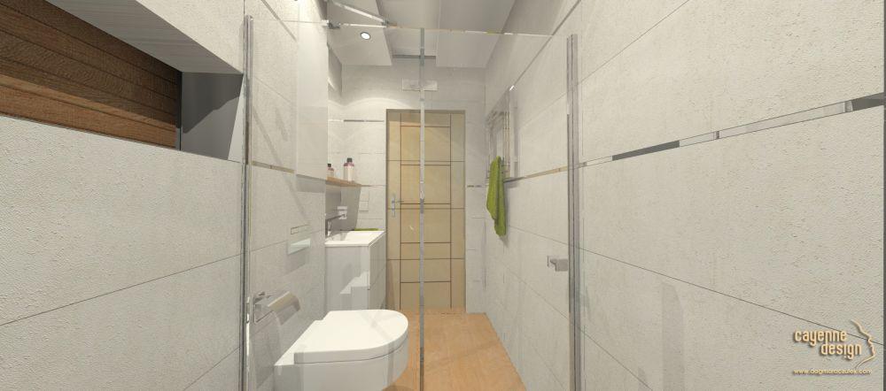 Lutynia - łazienka wc