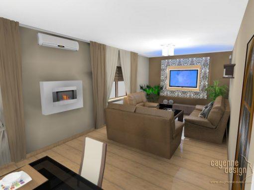 Trzebnica – podłużny salon