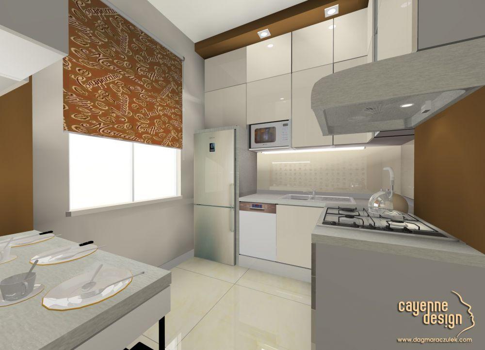 Kuchnia w bloku